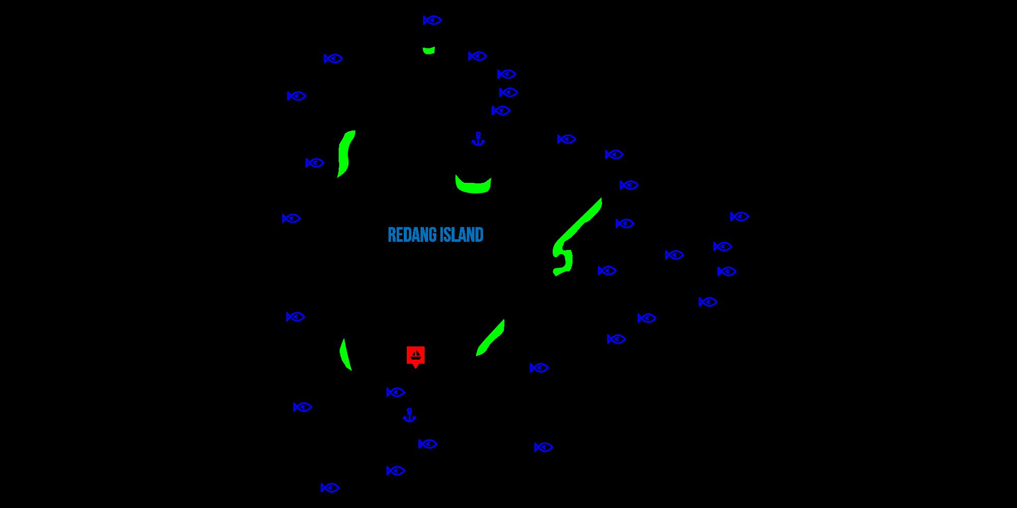 redang map
