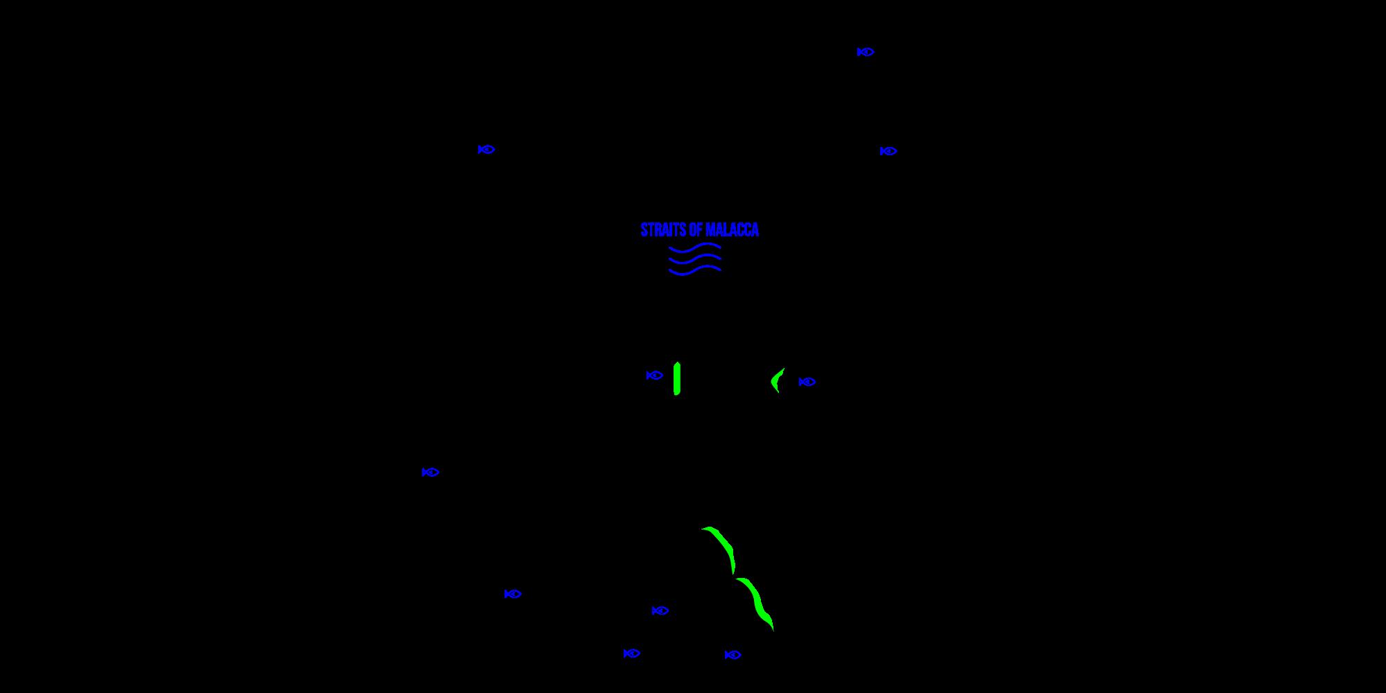 sembilan islands map