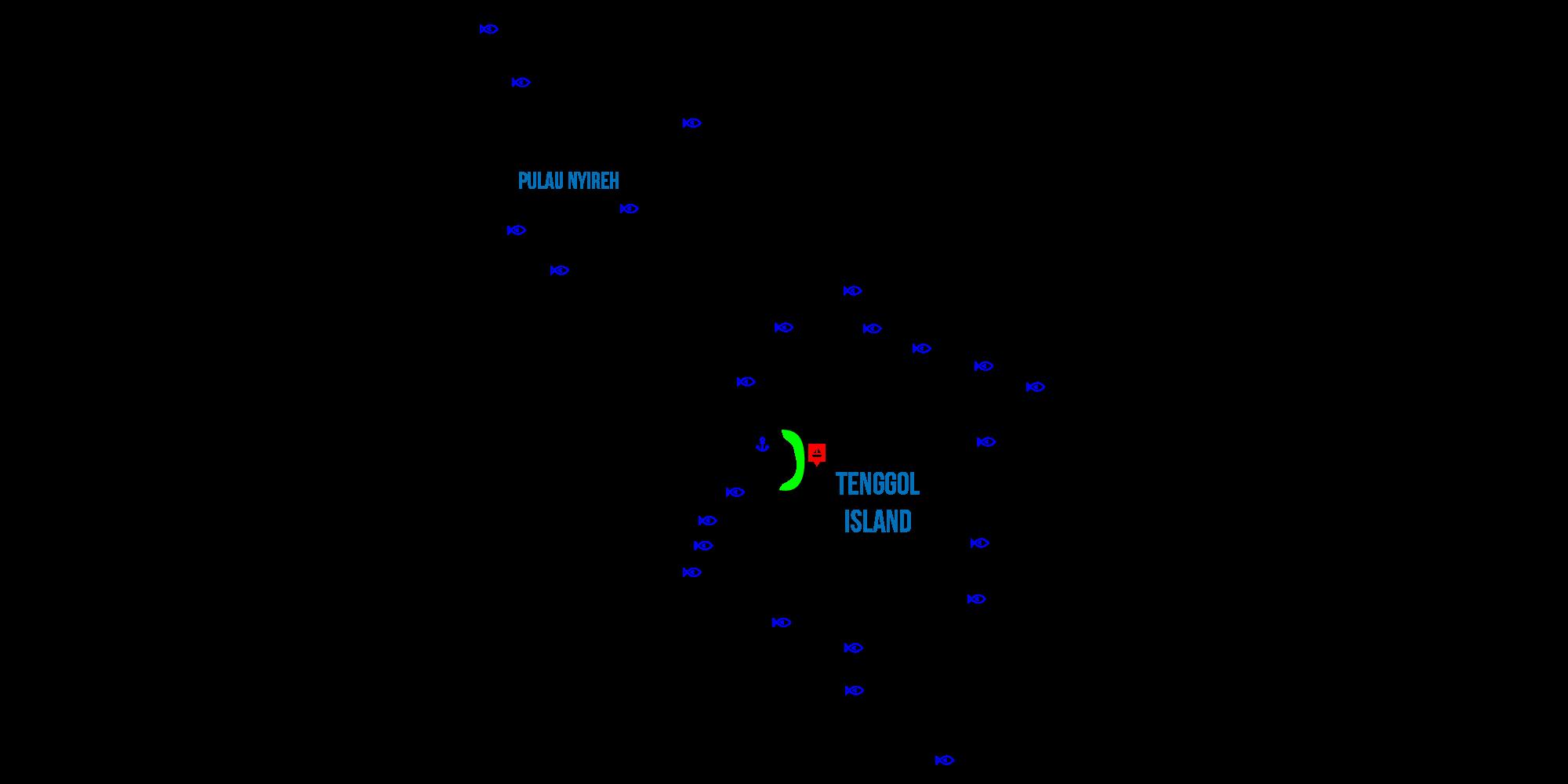 tenggol map