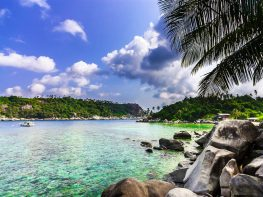 Aur Island Scenery