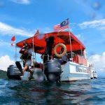 BD dive boat