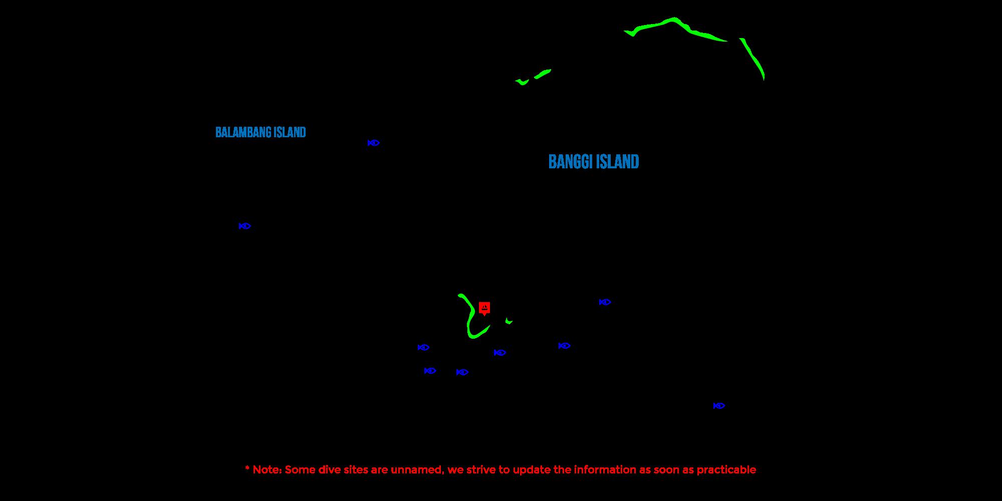 Banggi Island Map