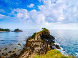 Kapas Island Cliff View