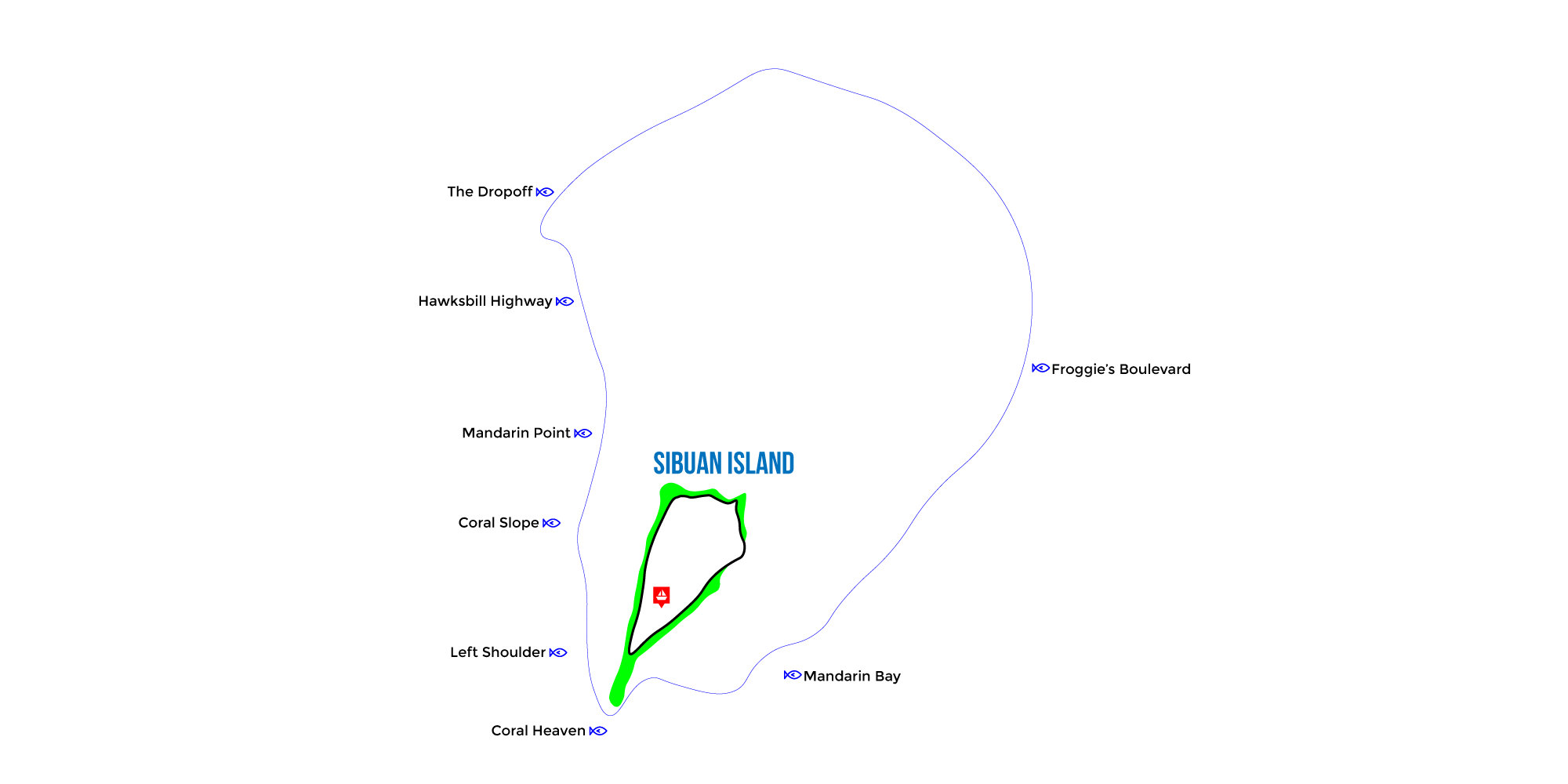 Sibuan Map