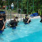 B&J training pool tioman