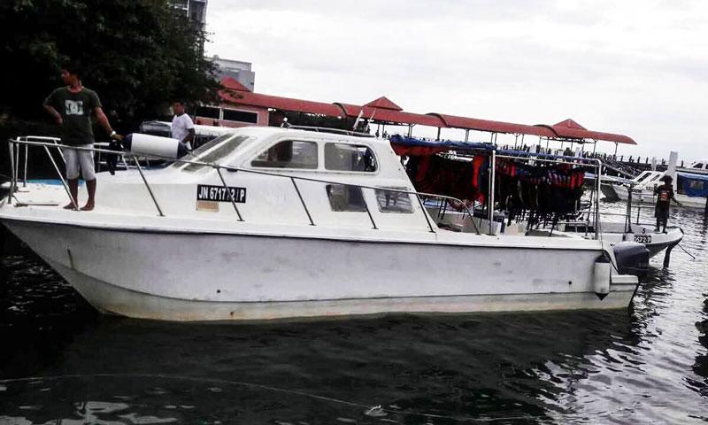 mengalum catamaran