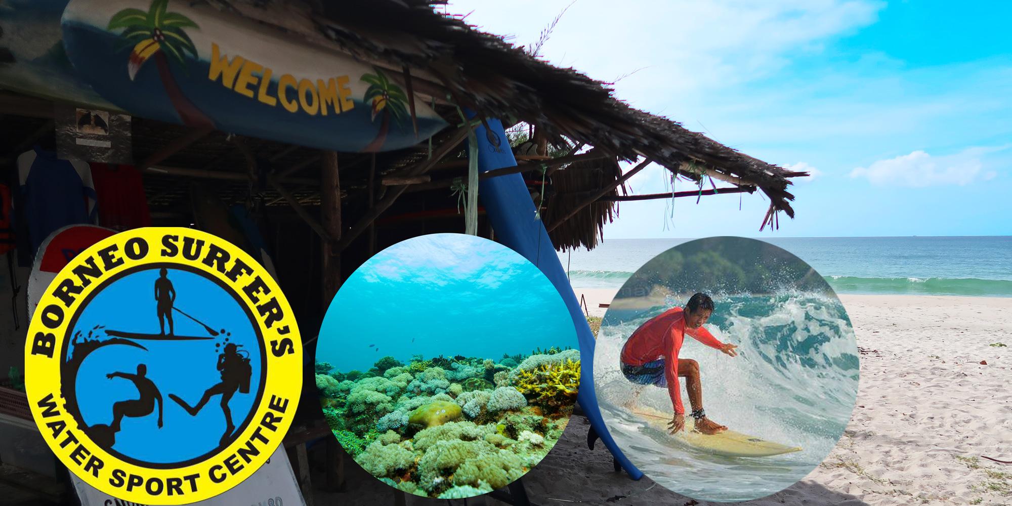 borneo surfers tip of borneo kudat