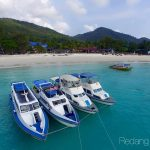 redang beach resort boat view