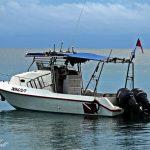try scuba dive boat tiga survivor island