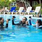 borneo divers training pool