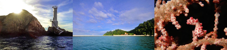 Sembilan Island Pangkor Lumut Perak Malaysia